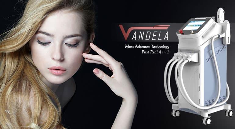 خرید دستگاه لیزر چهار هندپیس وندلا
